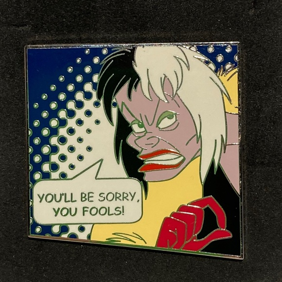 Disney Cruella Deville collectors pin